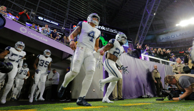 Vikings Cowboys Most Watched Nfl Thursday Night Football Game Ever