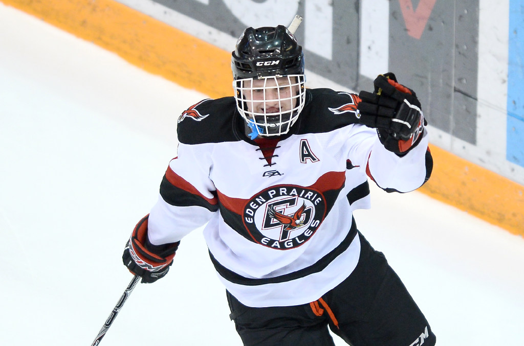 MN H.S.: January NHL Central Scouting Midterm Rankings - Eden Prairie Star Casey Mittelstadt Rated Top 5 North American Skater