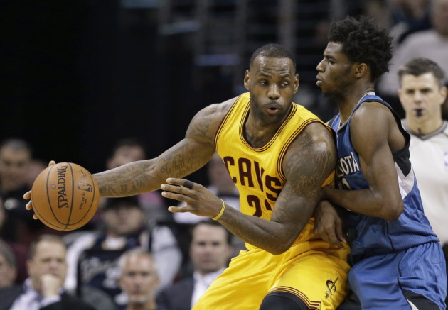 d309111e6366 LeBron James is pressuring Cleveland s ownership to add another playmaker  to the team s roster. Maybe someone like Andrew Wiggins