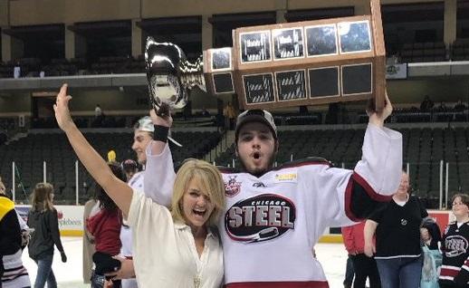 BIG10: Gophers Recruit Brannon McManus Celebrates USHL Clark Cup Championship