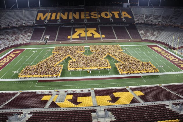 via the University of Minnesota's Facebook page
