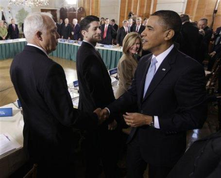 Kline and Obama in 2010.