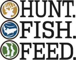 Hunt. Fish. Feed. Logo