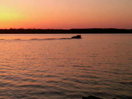 Pleasant early morning conditions greet 2010 Minnesota fishing opener anglers.