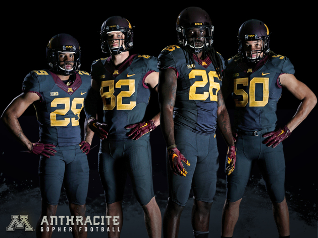 Pregame  Gophers unveil alternate uniforms for game vs. Michigan ... f9bd1a955
