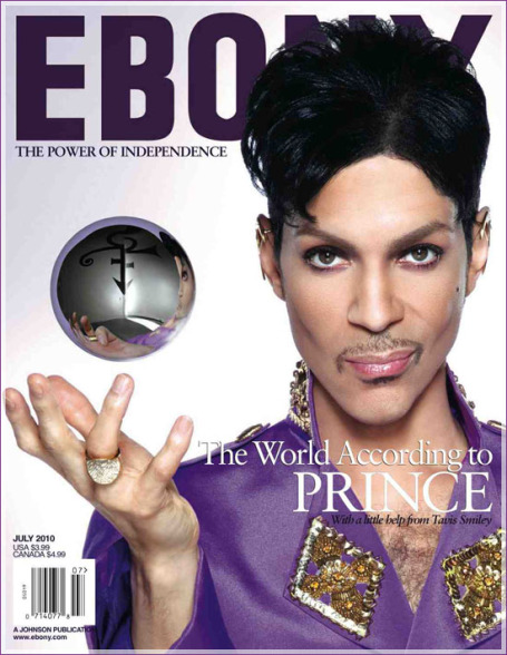 Now I've figured out why Ebony put Prince on the cover of its July issue.