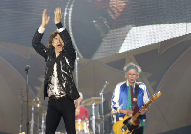 The Stones in 2014/ Associated Press photo