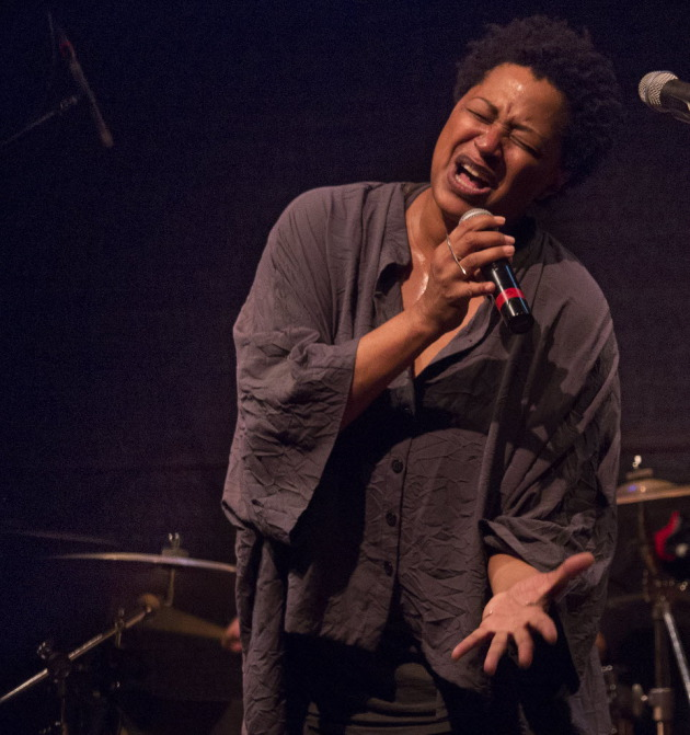 Lisa Fischer at the Dakota in 2014/ Star Tribune photo by Tom Wallace