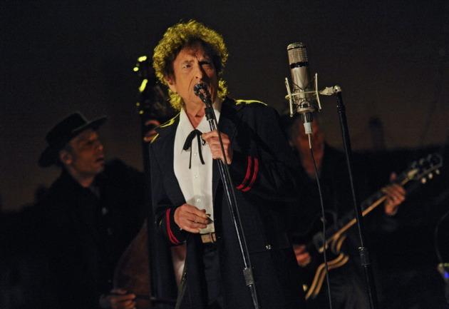 Bob Dylan/ Photo by Jeffrey R. Staab/ CBS/ AP