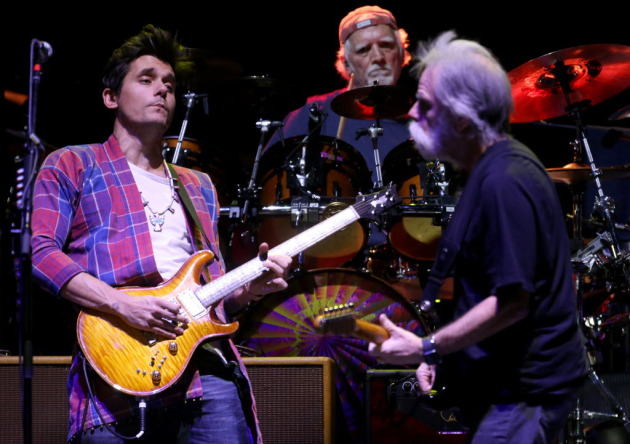 John Mayer (left) with Dead and Company/ Star Tribune photo by David Joles