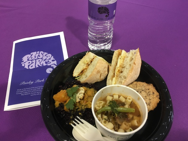 A sampling of food from Paisley Park Kitchen