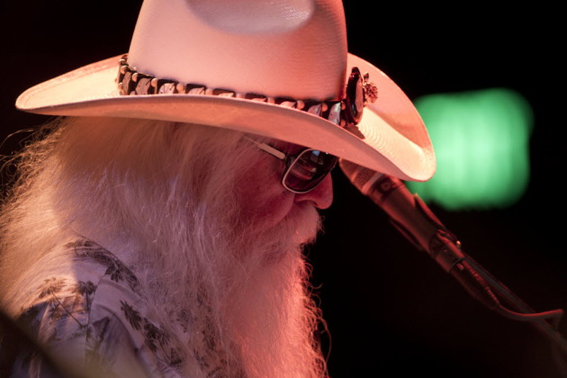Leon Russell at the Dakota in 2012/ Star Tribune photo by Jeff Wheeler