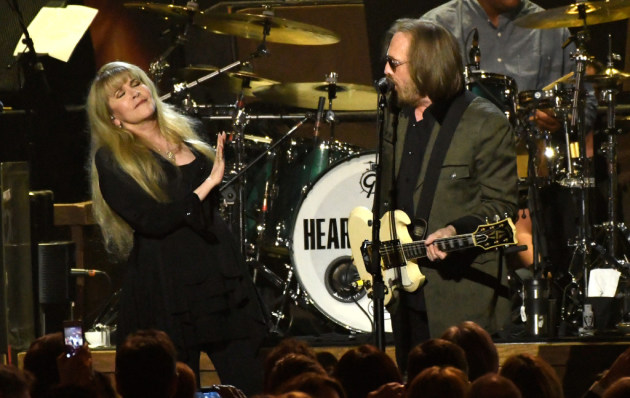 Stevie Nicks and Tom Petty/ Associated Press Invision photo
