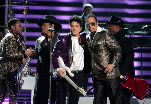 Bruno Mars and Morris Day/ Los Angeles Times