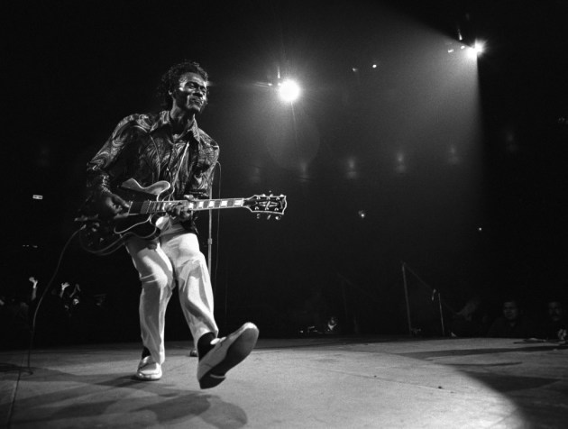Chuck Berry in 1971/ New York Times photo