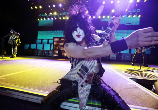 Kiss' Paul Stanley/ Star Tribune photo by David Joles