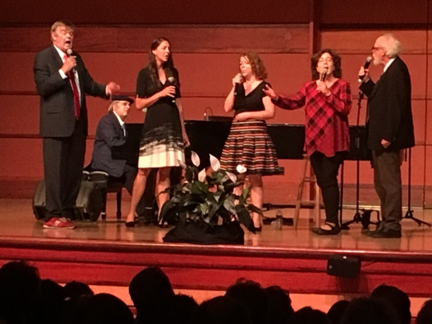 Garrison Keillor, Rich Dworsky, Heather Masse and Murie-Wenstrom Family Singers