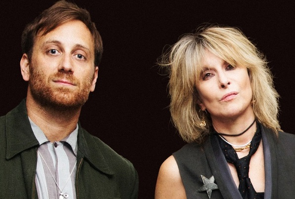 Producer Dan Auerbach and Pretenders' Chrissie Hynde/ Photo by Jill Furmanovsky