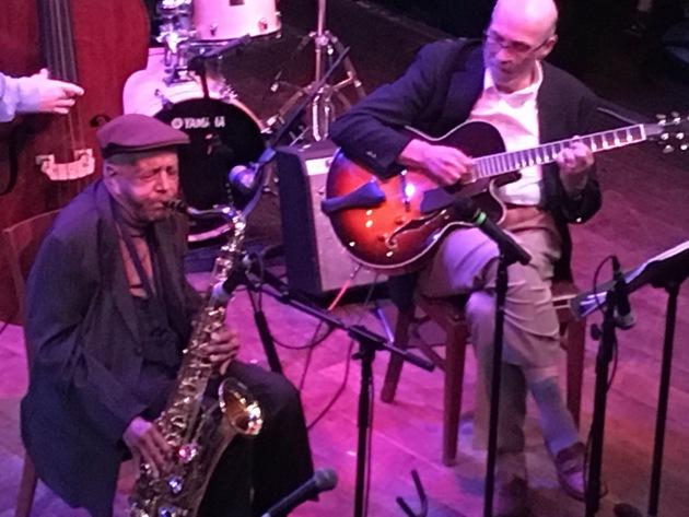Irv Willians and guitarist Steve Blons at the Dakota