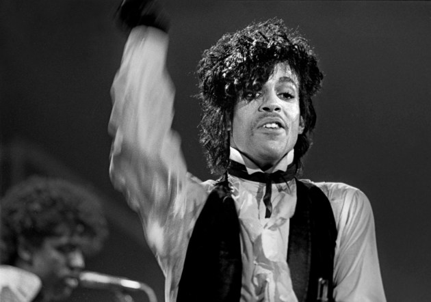 Prince in 1982/ Star Tribune photo by David Brewster