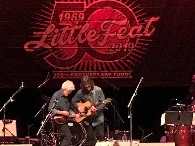 Little Feat's Fred Tackett and Larry Campbell jam