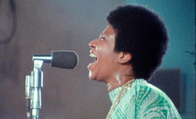 "Aretha Franklin in ""Amazing Grace""/ Associated Press"