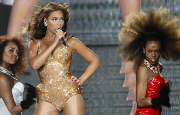 Beyonce at Target Center in 2009/ Star Tribune photo by Anthony Souffle