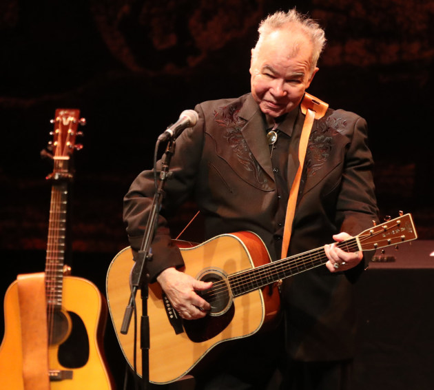 John Prine in 2019 at Northrop/ Star Tribune photo by David Joles
