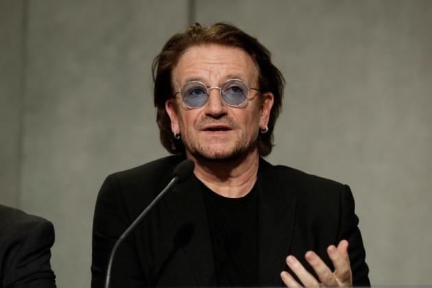 Bono/ Associated Press photo by Andrew Medichini