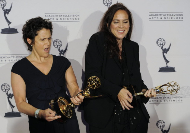 Wendy Melvoin and Lisa Coleman in 2010, Associated Press photo