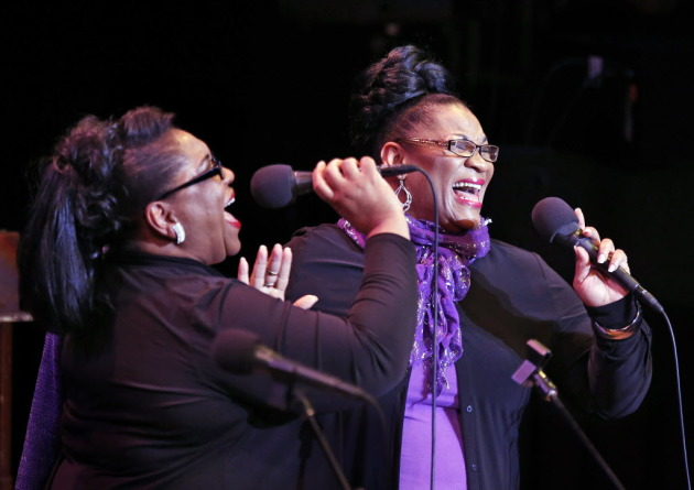 Jearlyn and Jevetta Steele/ Star Tribune photo by Leila Navidi
