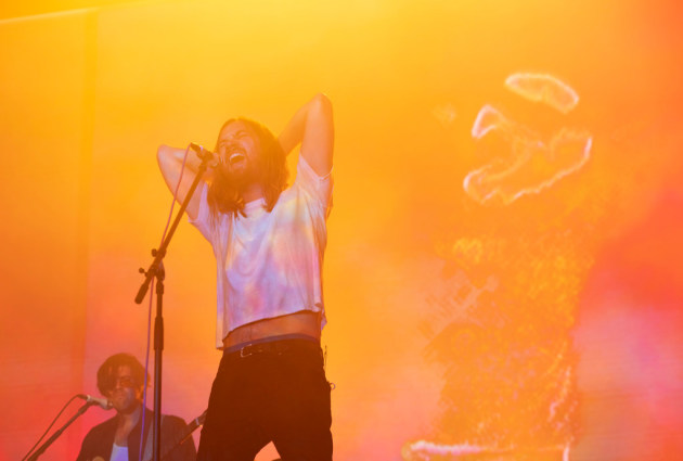 Tame Impala's Kevin Parker in Minneapolis in 2019/ Star Tribune photo by Jeff Wheeler