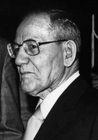 John Cabot Benson, honored at a Legal Aid Society dinner in 1982