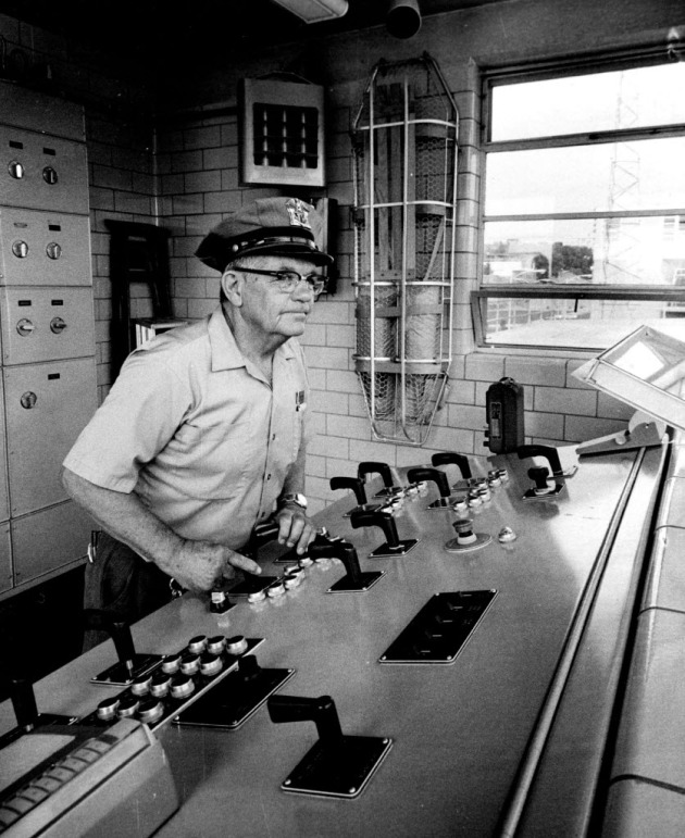 Lockmaster Harry Schulz, 1972 (Star Tribune file photo)