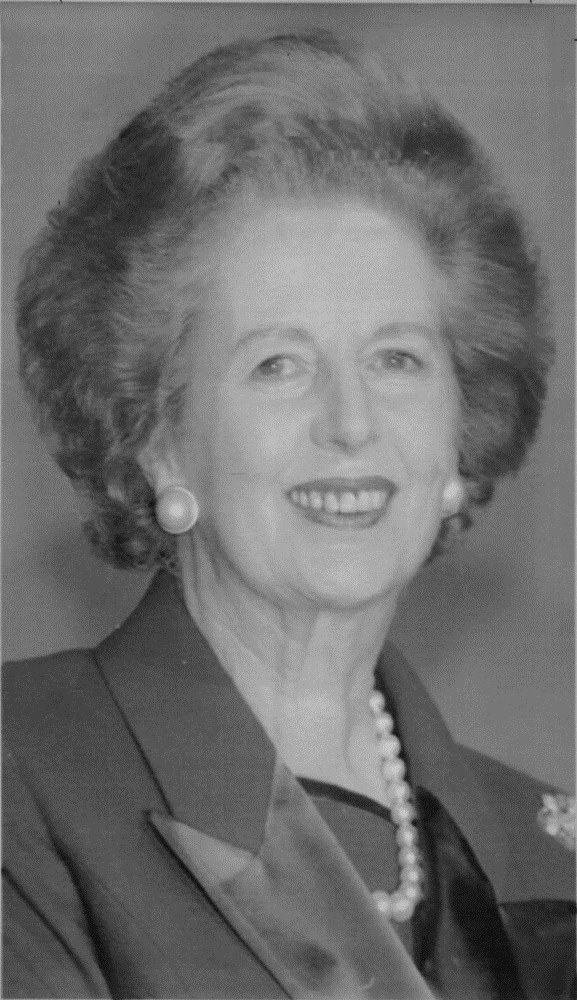 Thatcher in December 1991