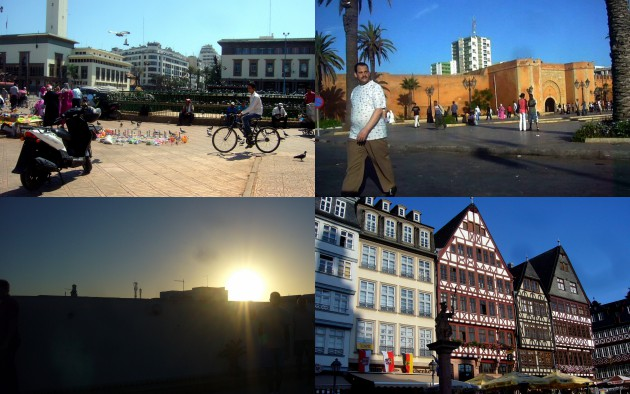A collection of my travels in Frankfurt, Casablanca and Rabat.