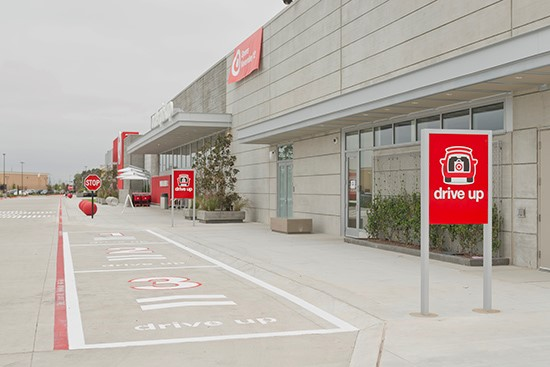 analyst gives target s drive up service in twin cities a thumbs up