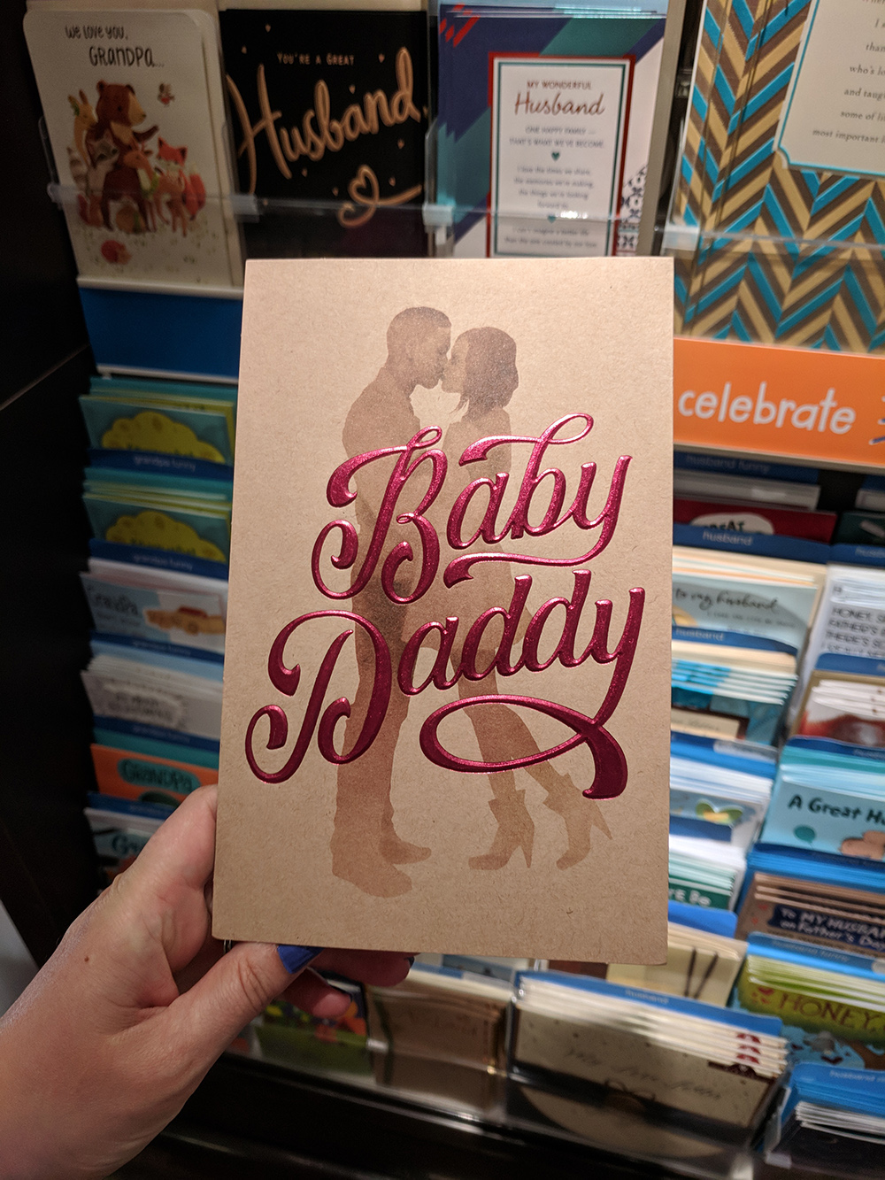 Baby Daddy Fathers Day Card Pulled From Target Other Retailers