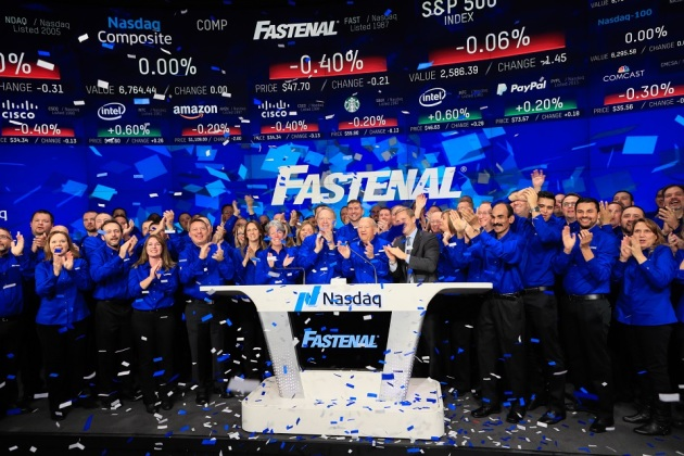 Fastenal Ringing The Bell