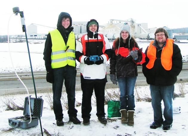 UW-Eau Claire photo of student crew