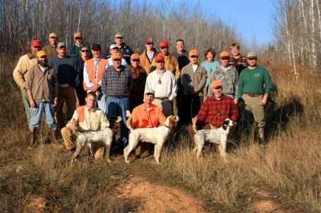 Grouse field trial attendees