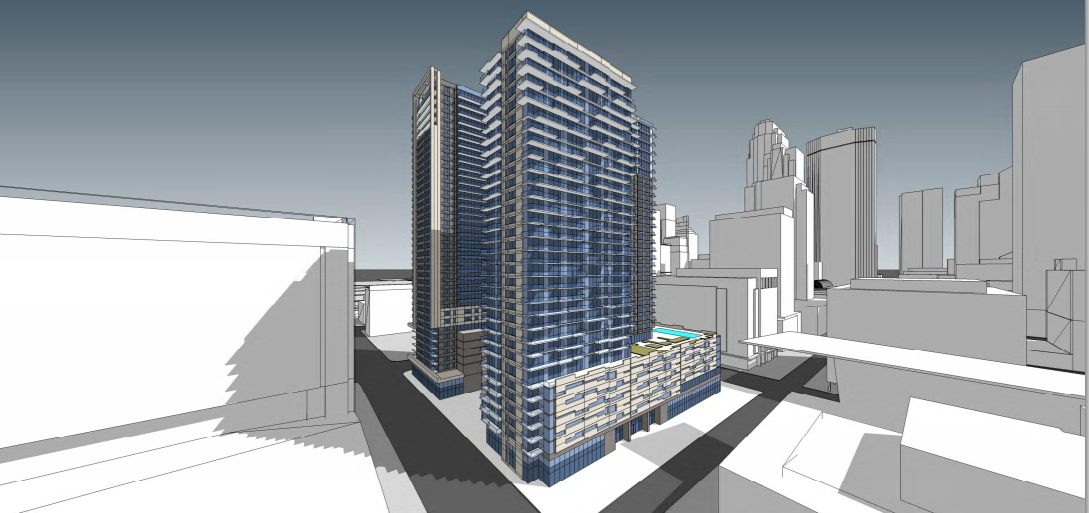 Opus Moves Quickly On 32 Story Tower Planned For Nicollet