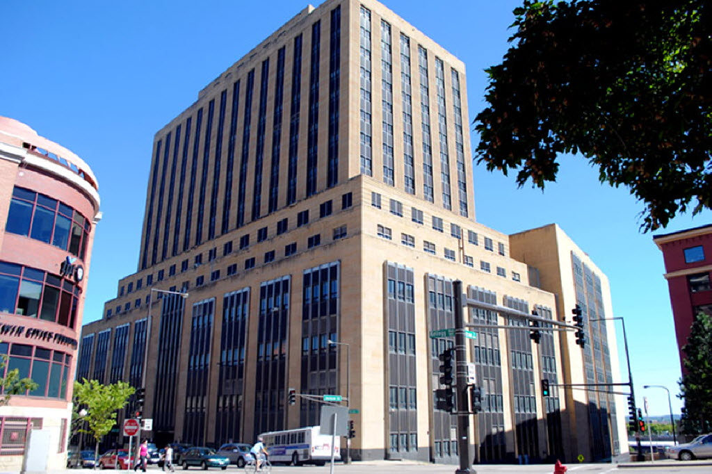 The former Post Office building, site of the Custom House redevelopment project. Source: State Review Board