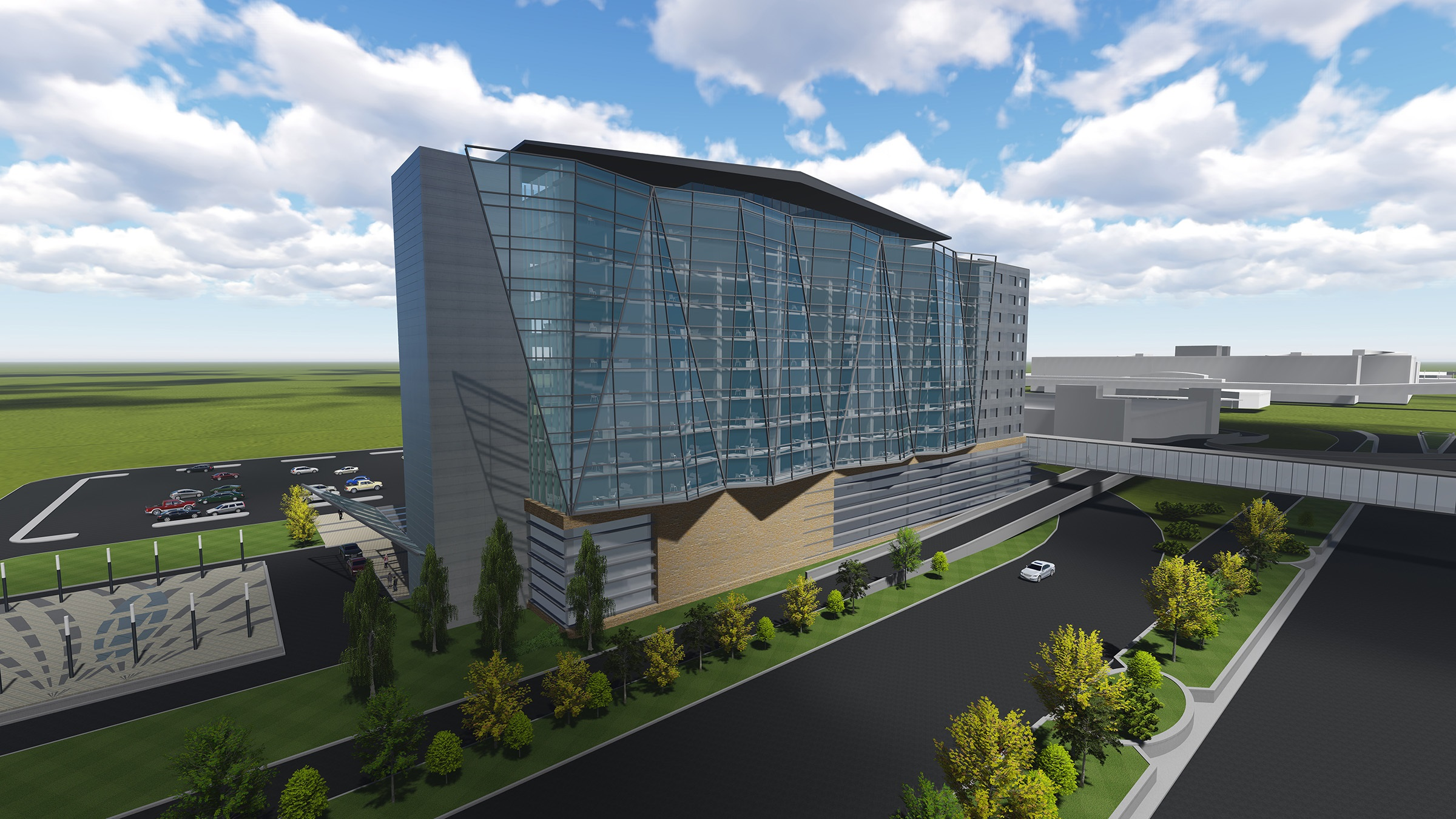 Graves Hospitality site renderings for its new hotel and MSP airport.