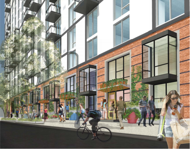 10th and Marquette project renderings (source: Village Green, City of Minneapolis)