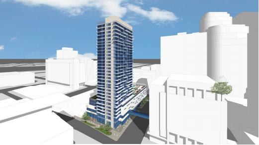 360 Nicollet Project renderings (source: Opus Group, City of Minneapolis)