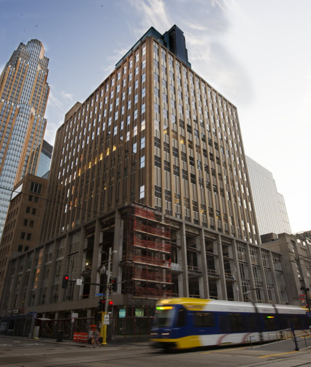 510 Marquette Ave. was one of three buildings Swervo Development Corp. sold to San Francisco-based Spear Street Capital on Friday, May 1, 2015.