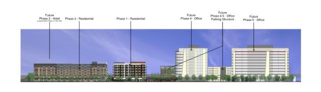 New West End master development site plan