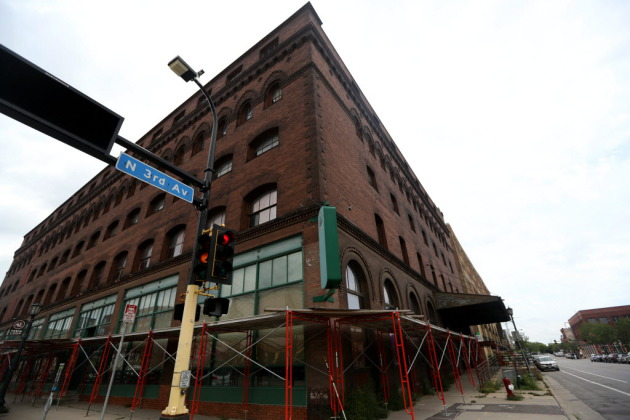 The Jackson Building on the corner of Washington Ave. and Third Ave. N. will be developed into a hotel. (KYNDELL HARKNESS/STAR TRIBUNE)