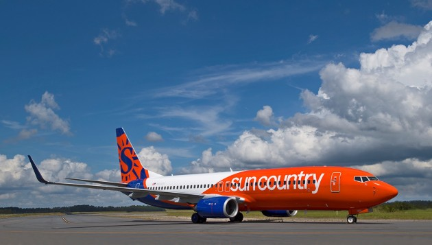 Sun Country Airlines' new plane livery will rotate into service starting in November.